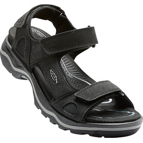 Keen Rialto 3 Point Sandals Men Black/Neutral Gray